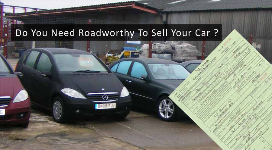 Need Roadworthy To Sell Your Car Vic