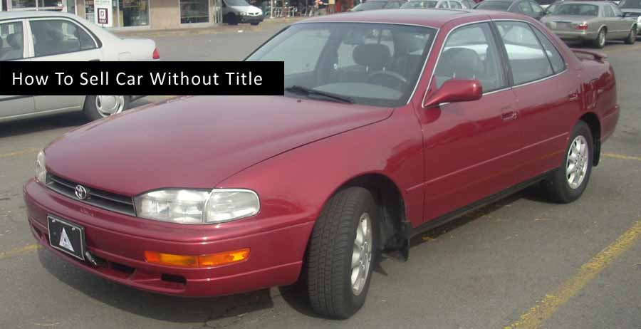 sell car without title