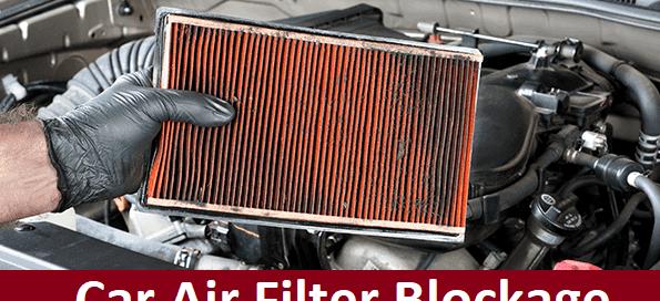 Car Air filter blockage