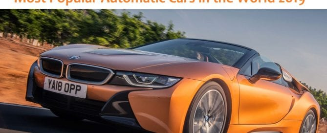 Most Popular automatic Cars in the world 2019